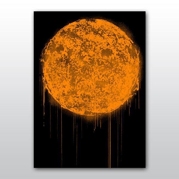 """The Sun"" Orange - Victor Ash"