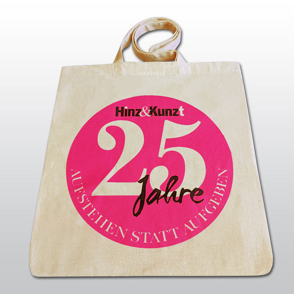 25 Jahre Baumwolltasche