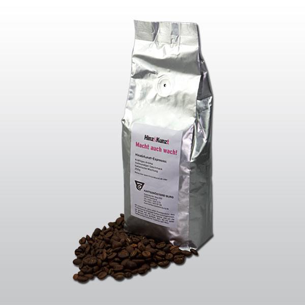 """Bio-Espresso """"Macht auch wach"""" gemahlen"""
