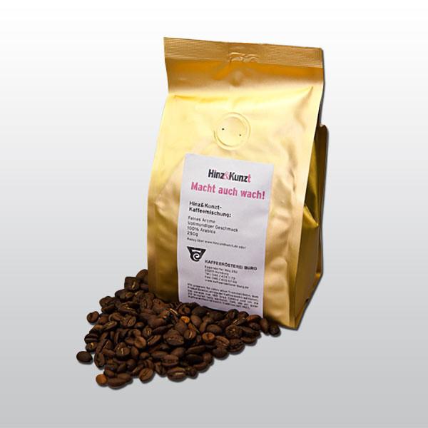 """Biokaffee """"Macht auch wach"""" ungemahlen"""