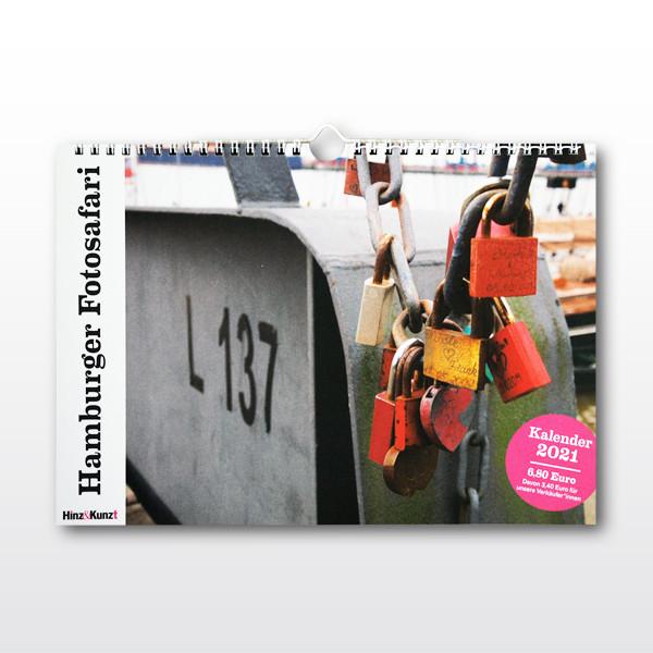 """Kalender """"Hamburger Fotosafari"""" 2021"""