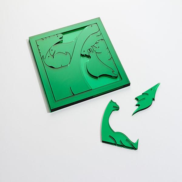 Puzzle Dinos von Pangäa