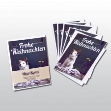 Hinz&Kunzt-Weihnachtspostkarten