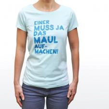 Fairliebt Damenshirt, caribbean blue