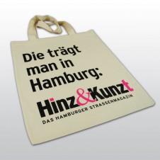"""""""Die trägt man in Hamburg"""" Baumwolltasche"""