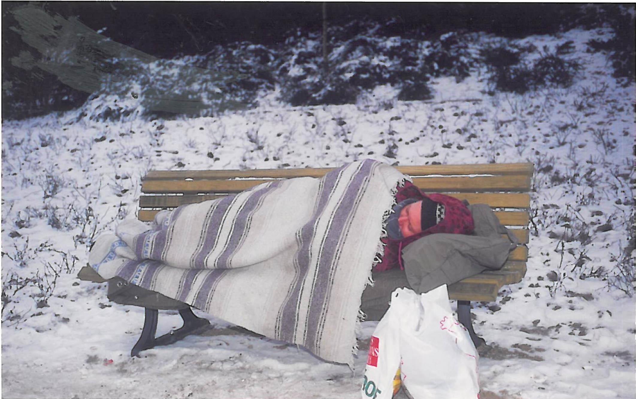 obdachlose in kirchen schlafen
