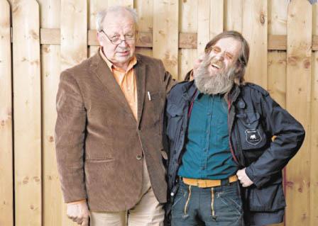Günter Zint und Uwe Wichmann