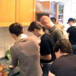 Google-Serve-Mitarbeiter in der Hinz&Kunzt-Küche