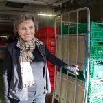 """Annemarie """"Ami"""" Dose. Gründerin der Hamburger Tafel, geht mit 84 Jahren in den Ruhestand. Foto: Cornelius M. Braun"""