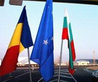 Hier hat das Schengen-Abkommen noch keine Gültigkeit: Der Grenzübergang zwischen Bulgarien und  Rumänien in der Stadt Rousse.