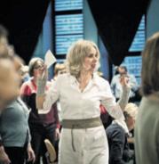 Regisseurin Kirsten Harms genießt das PROBEN mit Profis wie mit Laien. Foto: Dmitrj Leltschuk