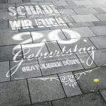Der Glückwunsch zum 20. Geburtstag von Hinz&Kunzt von der Agentur Kolle-Rebbe.