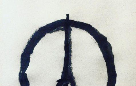Die Zeichnung von wurde zum Symbol nach den Anschläge von Paris