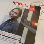 """Die Februar-Ausgabe des schleswig-hoslteinischen Straßenmagazins """"Hempels""""."""