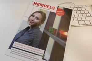 """Die Februar-Ausgabe des schleswig-holsteinischen Straßenmagazins """"Hempels""""."""