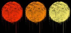 """Drei Farben Hoffnung: """"The Sun Red, Orange, Yellow"""" heißt der Beitrag von Street Artist Victor Ash für die Hinz&Kunzt StrassenKunztEdition. Preis: jeweils 99 Euro."""