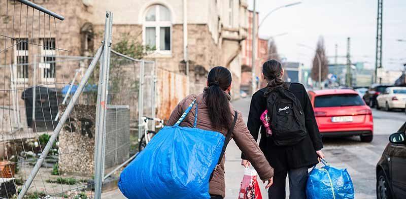 600 Obdachlose gehen zurück auf die Straße