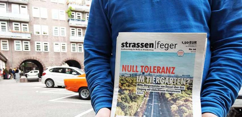 Berliner Straßenmagazin stellt Verkauf vorerst ein